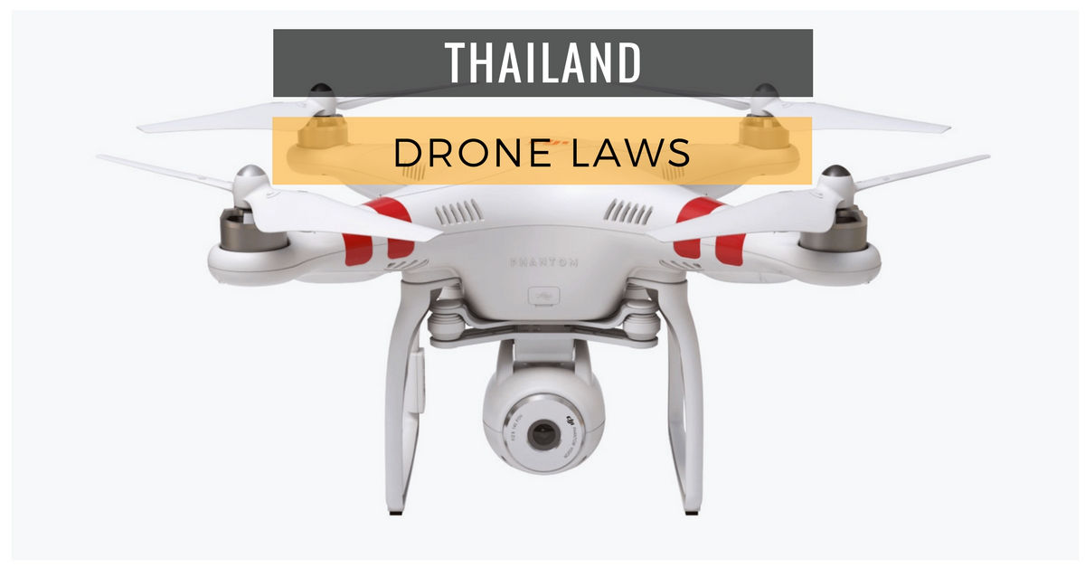 drone laws in Thailand