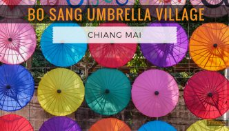 Bo Sang Umbrella Village, Chiang Mai