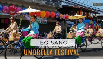 A Kaleidoscope of Colour at the Bo Sang Umbrella Festival