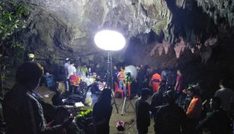 Search Continues for Youths Trapped in Chiang Rai Cave