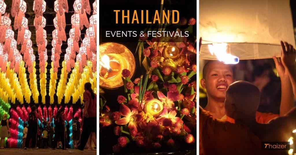 Thailand events and festivals calendar