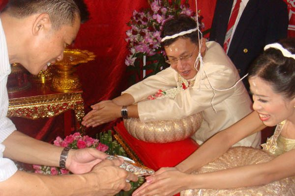 Thailand traditional wedding