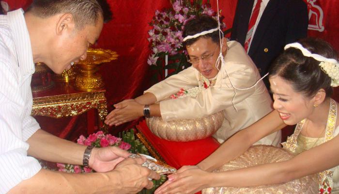 Thailand traditional wedding